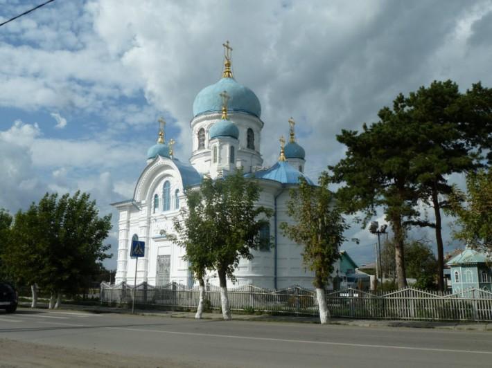 Никольская церковь в Ишиме