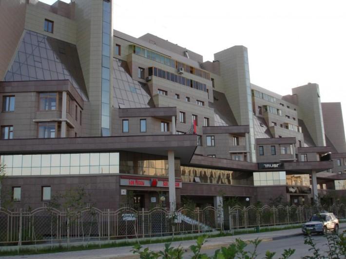 Одно из офисных зданий в Якутске