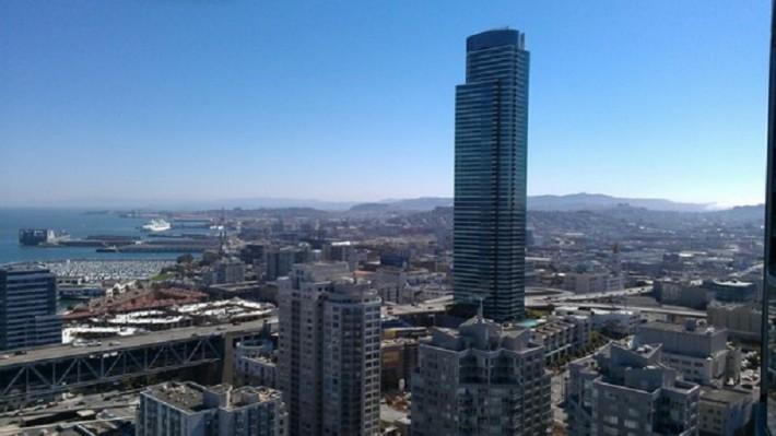Вид на Даунтаун, Сан-Франциско