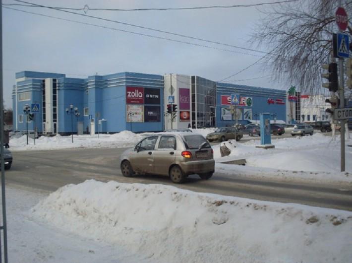Магазин SPAR в центре Ишима