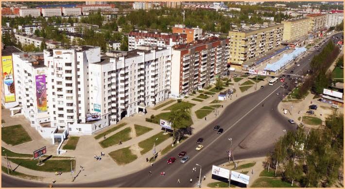 Псков. Рижский проспект