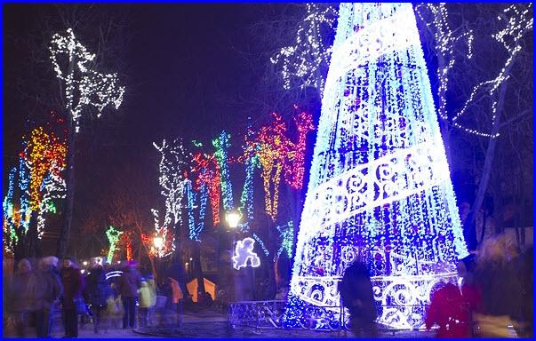 Новогодний Псков