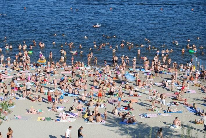 Центральный пляж Волгограда