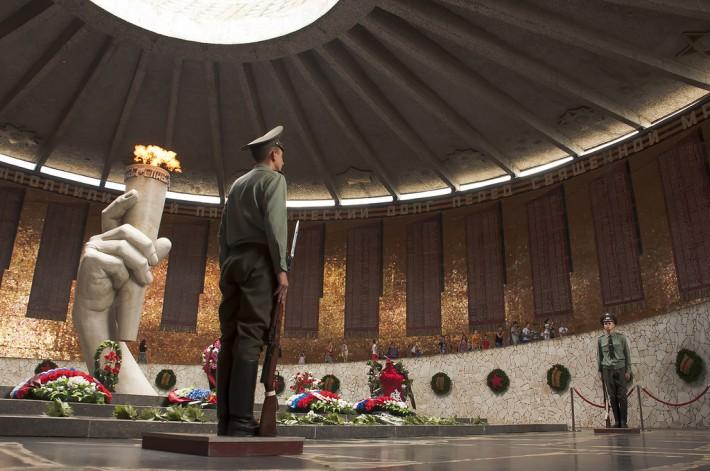 Зал Воинской Славы. Вечный огонь