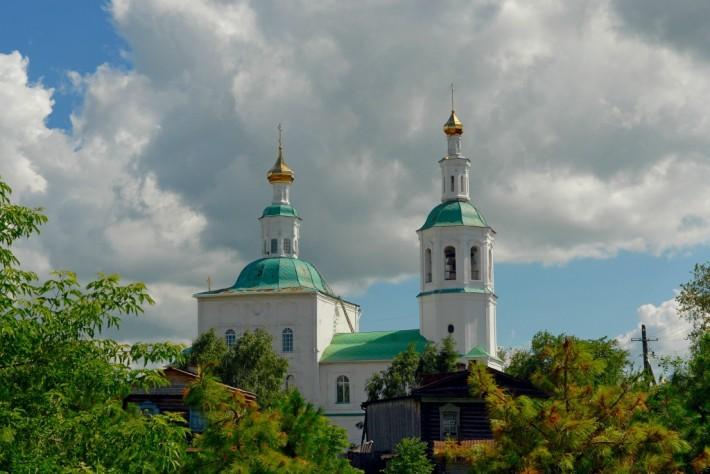 Каменная церковь Спаса Нерукотворного в Таре — старейшее в Омской области каменное здание