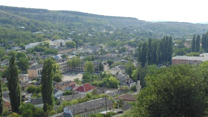 Город. Вид сверху