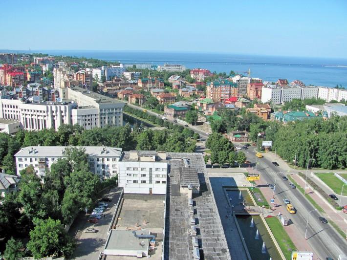 На улицах Ульяновска