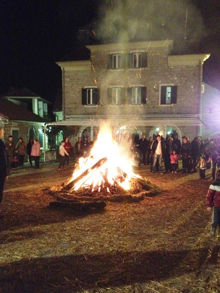 Рождество в Херцег-Нови. 2014 год