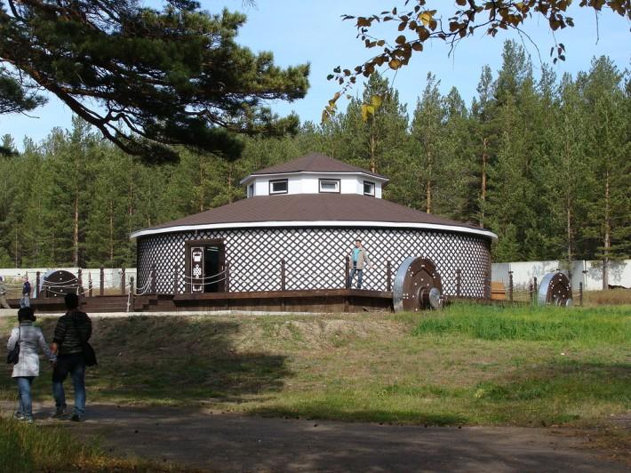 Юрта в этнографическом музее Улан-Удэ