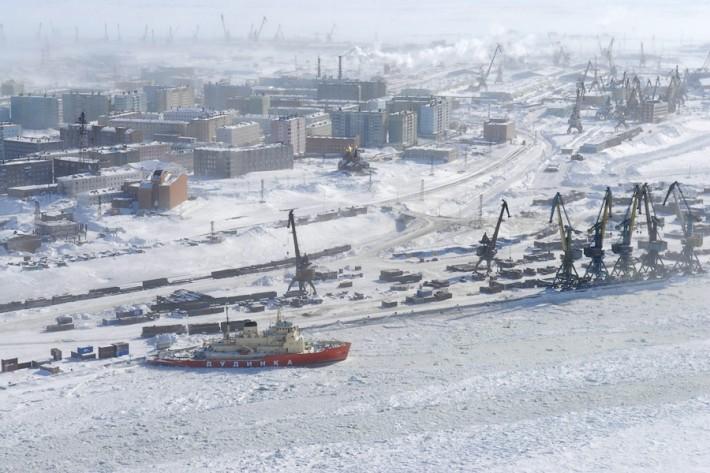 Для тех, кто не представляет, что такое ледяной ад, есть город Дудинка