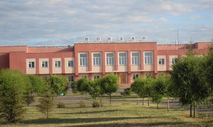Железнодорожный вокзал моего родного города Калачинска