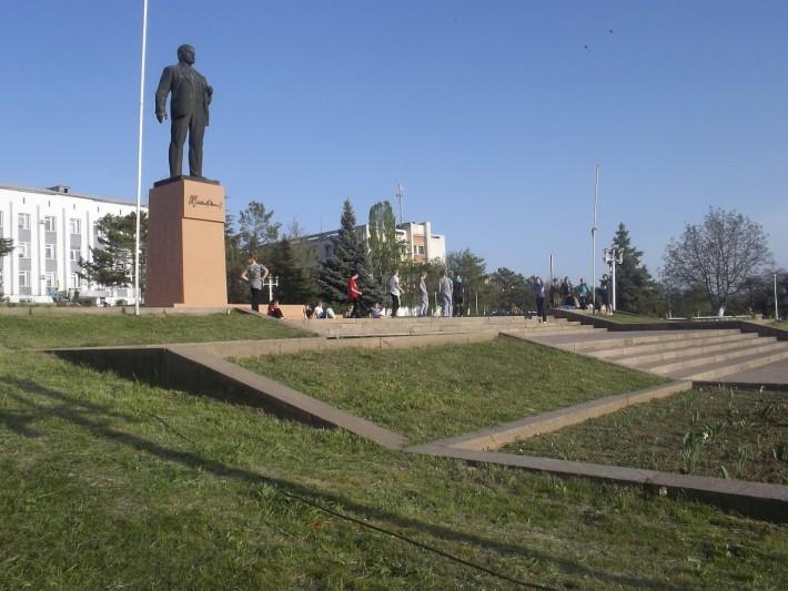 Площадь Ленина, Новый город