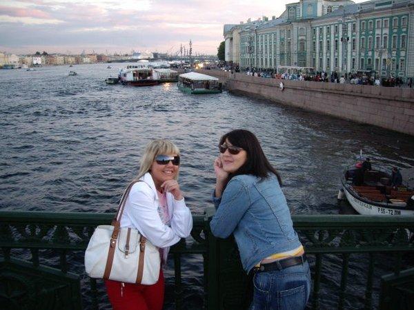 Я и моя лучшая питерская подруга Екатерина