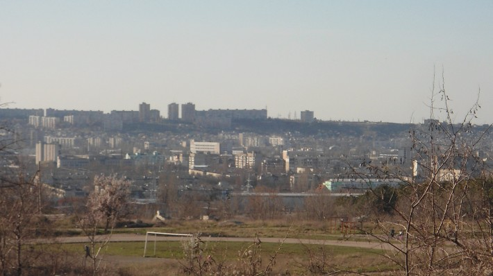 Вид на город с Пневматики