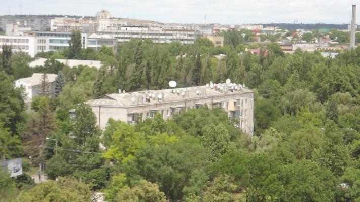 Марьино, зеленый город