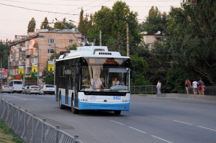 Междугородний троллейбус