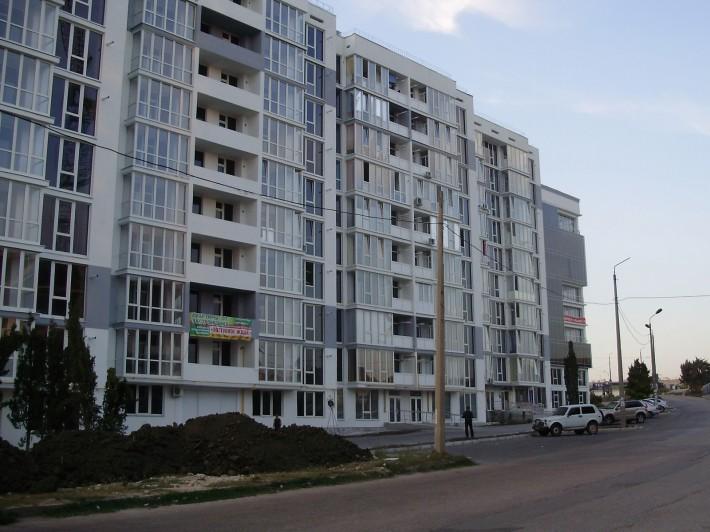 Новые дома в Стрелецкой бухте