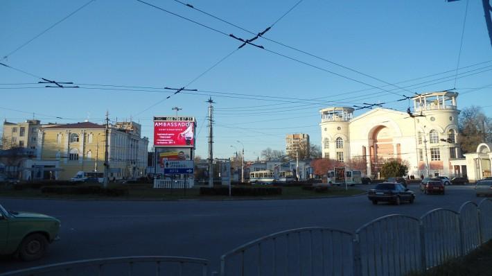 Площадь Советская, кинотеатр Симферополь