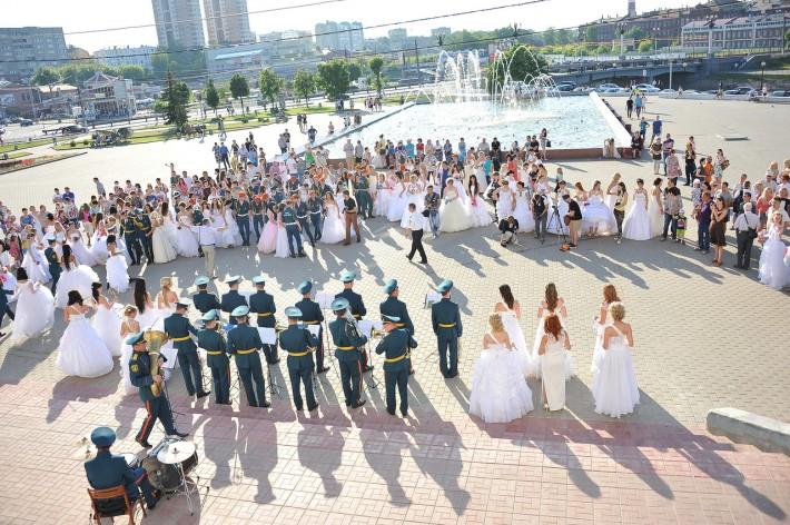 Парад невест в Иваново