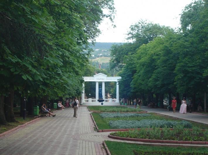 Феодосия. В городском парке