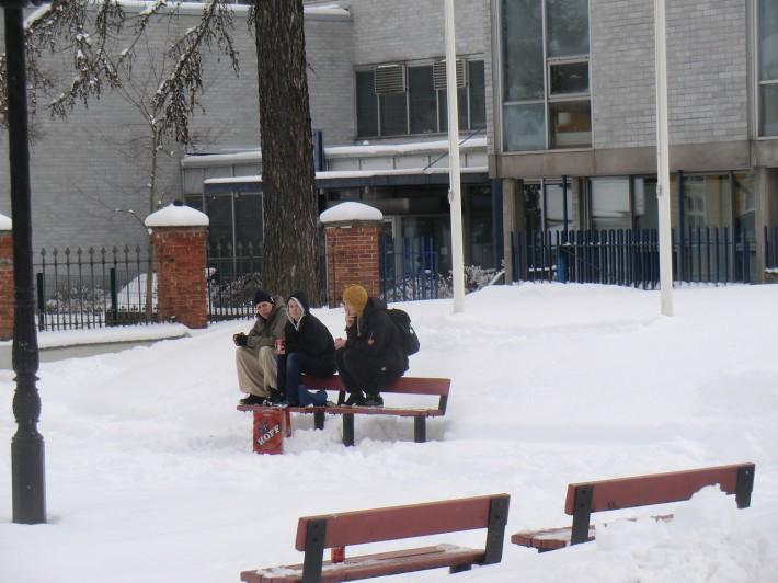 Финские школьники