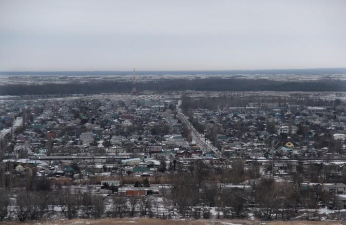 Панорама города Калач-на-Дону