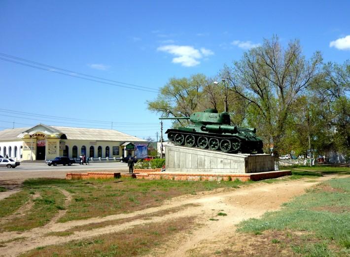 Т-34-85 в Калаче-на-Дону