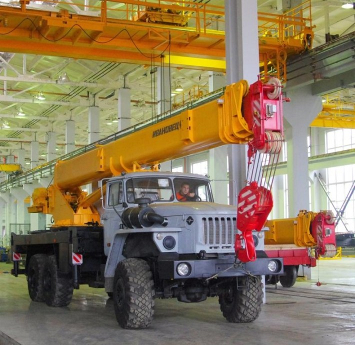 Сборка «Ивановцев» на заводе «Автокран»