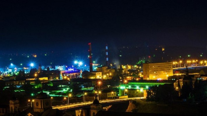 Вид на Заднепровский район
