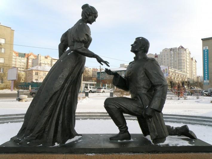Памятник декабристам в Чите