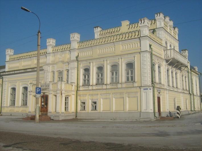Бутинский дворец в Нерчинске