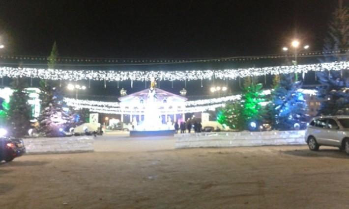 Снежный городок 2013-2014