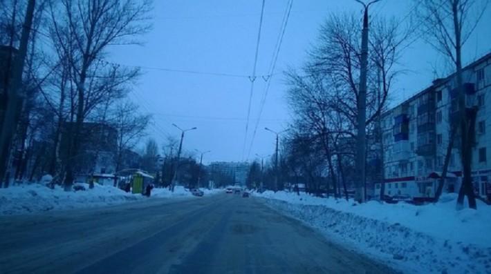 Ул. Дзержинского (верх улицы)