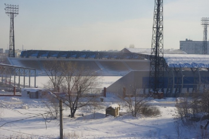 Стадион Нефтяник, ул. Победы