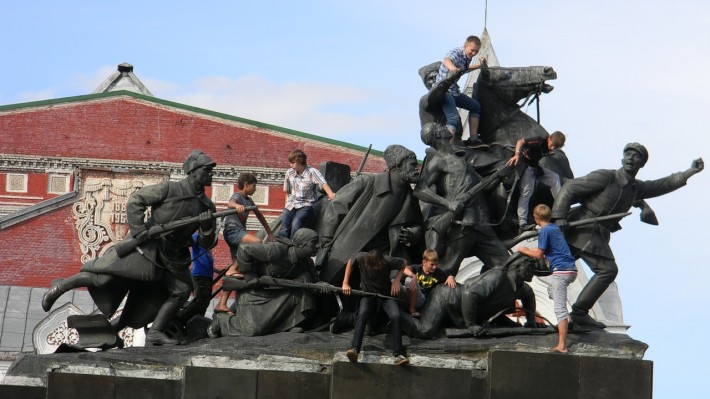 Памятник Чапаеву в Самаре