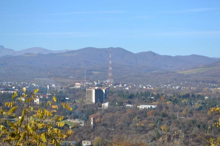 Панорама Нальчика