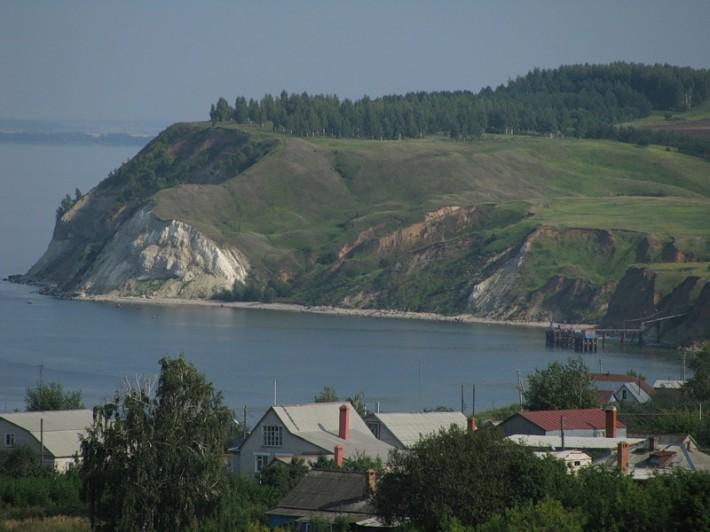 Устье Камы. Гора Лобач