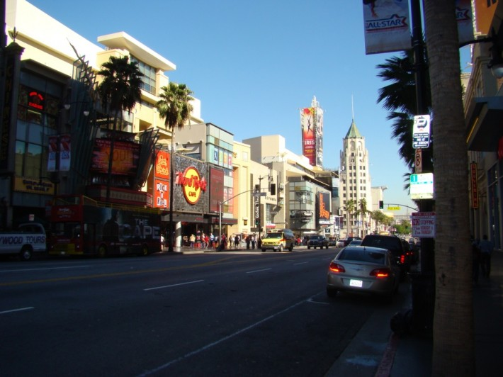 Голливуд  бульвар (Лос Анджелес, штат Калифорния, США)