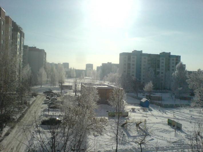 Обычный район Бобруйска, со средними ценами на жилье