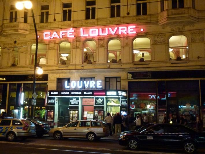 Лувр — одно из старейших кафе в Праге
