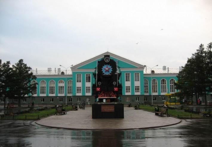 Вокзал в Кемерово