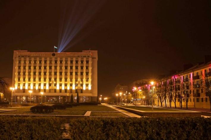 Ночной Бобруйск лучше европейских городов