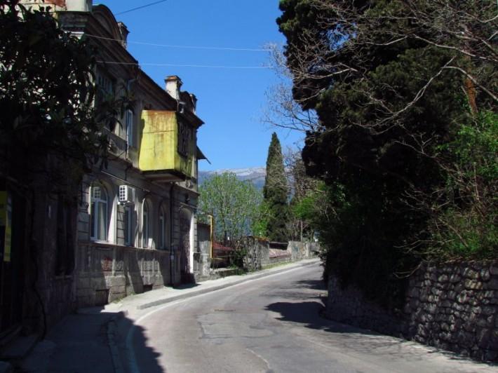 Дорога по ул. Свердлова