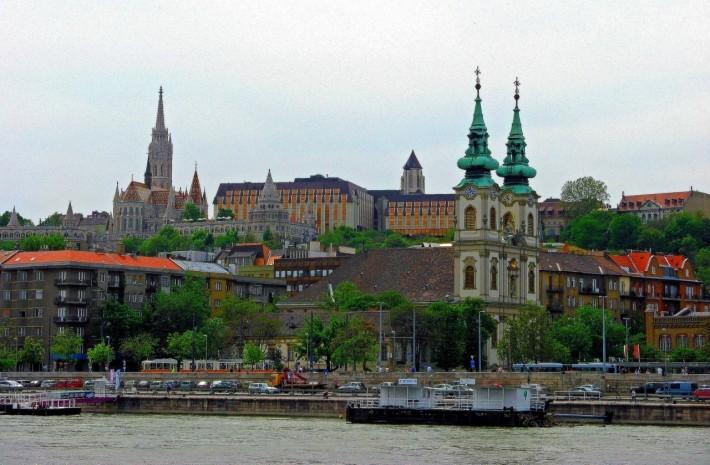Будапешт. Набержная Дуная