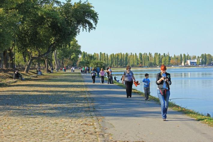 Парк-набережная города Таганрога
