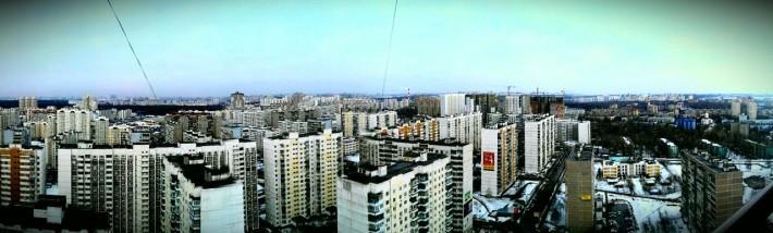 Панорамный вид г. Люберцы в наши дни (2013 год)