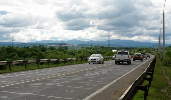 Дороги в Биробиджане — мост через р. Бира