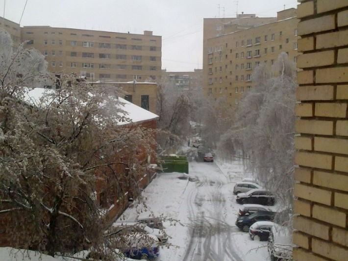 Одна из улиц Городка А, 2012 год