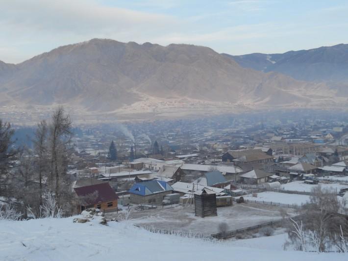 Зима в Онгудае