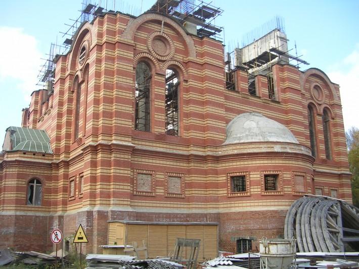 Церковь Вознесения Господня (реконструкция с 2001 г. и до сих пор)